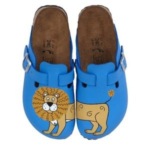 Birkis Woodby Lion Sandal NEW